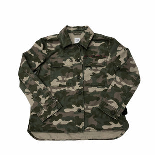 Primary Photo - BRAND: GAP STYLE: JACKET OUTDOOR COLOR: CAMOFLAUGE SIZE: S SKU: 116-116126-36465
