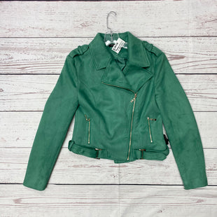 Primary Photo - BRAND: ROMEO AND JULIET STYLE: JACKET OUTDOOR COLOR: KELLY GREEN SIZE: M SKU: 116-116140-7005