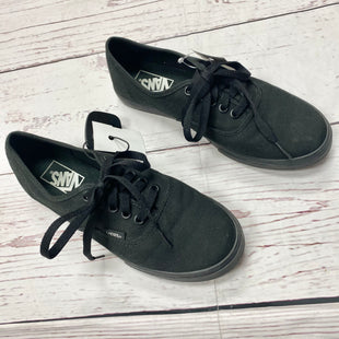 Primary Photo - BRAND: VANS STYLE: SHOES ATHLETIC COLOR: BLACK SIZE: 7.5 SKU: 116-116140-6598