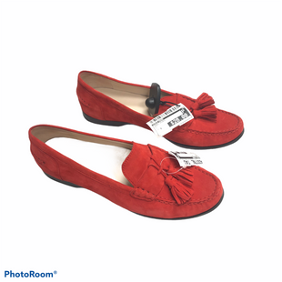 Primary Photo - BRAND: COLE-HAAN STYLE: SHOES FLATS COLOR: RED SIZE: 9 SKU: 116-116140-10588