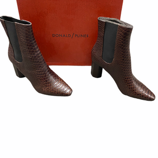 Primary Photo - BRAND: DONALD PLINER STYLE: BOOTS ANKLE COLOR: SNAKESKIN PRINT SIZE: 10 OTHER INFO: MSRP $298 SKU: 116-116141-8913