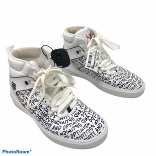 Primary Photo - BRAND:    CLOTHES MENTOR STYLE: SHOES ATHLETIC COLOR: WHITE BLACK SIZE: 7 OTHER INFO: K SWISS - K SWISS X GARY VEE - AS IS - MSRP $150 SKU: 116-116140-11502