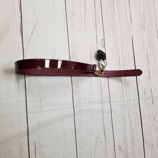 Primary Photo - BRAND: RALPH LAUREN STYLE: BELT COLOR: MAROON SIZE: XS OTHER INFO: NWT-$42 SKU: 116-116147-526
