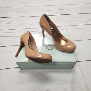 Primary Photo - BRAND: JESSICA SIMPSON STYLE: SHOES HIGH HEEL COLOR: NUDE SIZE: 8.5 SKU: 116-116126-30635