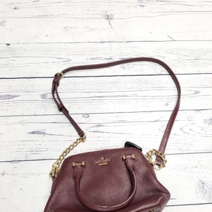 Primary Photo - BRAND: KATE SPADE STYLE: HANDBAG DESIGNER COLOR: BURGUNDY SIZE: SMALL OTHER INFO: AS IS SKU: 116-116141-4781