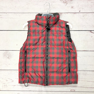 Primary Photo - BRAND: GAP STYLE: VEST DOWN COLOR: PLAID SIZE: S SKU: 116-116147-1235