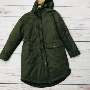 Primary Photo - BRAND: LOGG STYLE: COAT LONG COLOR: OLIVE SIZE: S OTHER INFO: AS IS - MISSING SNAP ON FUR ON HOOD SKU: 116-116140-7907