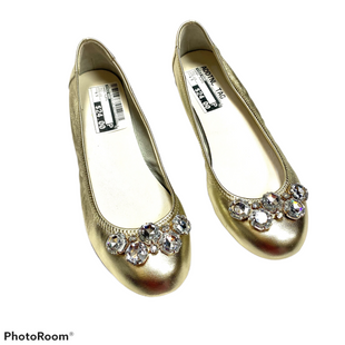 Shoes Flats By Cole-haan  Size: 6.5 - BRAND: COLE-HAAN STYLE: SHOES FLATS COLOR: GOLD SIZE: 6.5 OTHER INFO: NIKE AIR SKU: 116-116134-9007