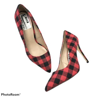 Shoes High Heel By Mix No 6  Size: 9 - BRAND: MIX NO 6 STYLE: SHOES HIGH HEEL COLOR: PLAID SIZE: 9 SKU: 116-116137-9141