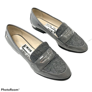 Shoes Flats By Calvin Klein  Size: 6.5 - BRAND: CALVIN KLEIN STYLE: SHOES FLATS COLOR: GREY SIZE: 6.5 SKU: 116-116137-9109
