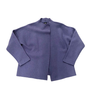 Coat Wool By Eileen Fisher  Size: S - BRAND: EILEEN FISHER STYLE: COAT WOOL COLOR: PURPLE SIZE: S SKU: 116-116141-9350