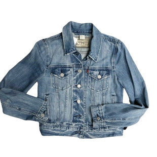 Jacket Outdoor By Levis  Size: Xs - BRAND: LEVIS STYLE: JACKET OUTDOOR COLOR: DENIM SIZE: XS SKU: 116-116134-8844