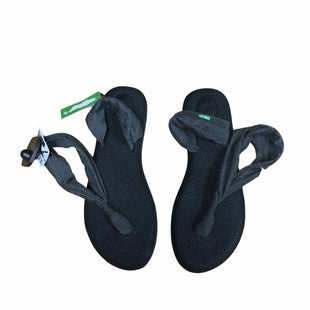Primary Photo - BRAND: SANUK STYLE: FLIP FLOPS COLOR: BLACK SIZE: 9 OTHER INFO: NWT SKU: 116-116147-2314
