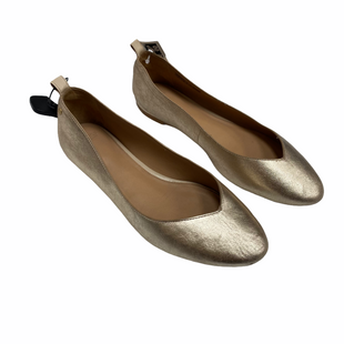 Primary Photo - BRAND: UGG STYLE: SHOES FLATS COLOR: GOLD SIZE: 8 OTHER INFO: AS IS-MSRP $120 SKU: 116-116147-2066