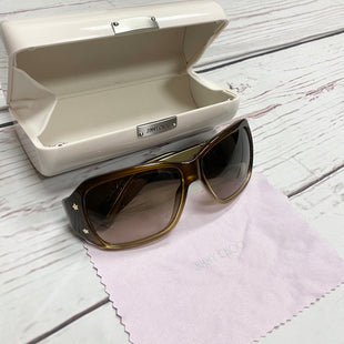 Primary Photo - BRAND: JIMMY CHOO STYLE: SUNGLASSES COLOR: BROWN SKU: 116-116126-30648