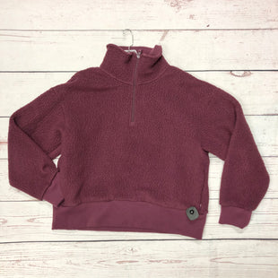 Primary Photo - BRAND:    CLOTHES MENTOR STYLE: FLEECE COLOR: PLUM SIZE: L OTHER INFO: IVORY LANE - SIZE 12 SKU: 116-116147-1532