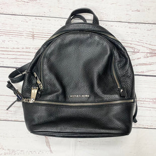 Primary Photo - BRAND: MICHAEL BY MICHAEL KORS STYLE: BACKPACK COLOR: BLACK SIZE: MEDIUM OTHER INFO: MSRP $298 SKU: 116-116137-8150