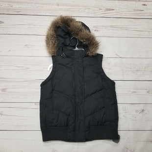 Primary Photo - BRAND: GAP STYLE: VEST DOWN COLOR: BLACK SIZE: S SKU: 116-116141-6172