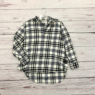 Primary Photo - BRAND: MADEWELL STYLE: TOP LONG SLEEVE COLOR: PLAID SIZE: S SKU: 116-116141-6485