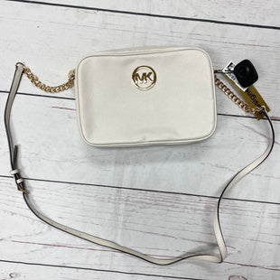 Primary Photo - BRAND: MICHAEL BY MICHAEL KORS STYLE: HANDBAG DESIGNER COLOR: OFF WHITE SIZE: MEDIUM OTHER INFO: MSRP $168 SKU: 116-116140-7493