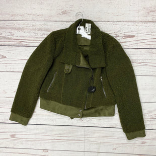 Primary Photo - BRAND: PEYTON JENSEN STYLE: COAT SHORT COLOR: OLIVE SIZE: L SKU: 116-116126-33794
