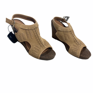 Primary Photo - BRAND: AEROSOLES STYLE: SANDALS HIGH COLOR: TAN SIZE: 8.5 SKU: 116-116126-35728
