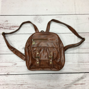 Primary Photo - BRAND:    CLOTHES MENTOR STYLE: BACKPACK COLOR: BROWN SIZE: MEDIUM OTHER INFO: HANXIN - SKU: 116-116140-6771