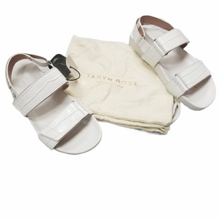 Primary Photo - BRAND: TARYN ROSE STYLE: SANDALS FLAT COLOR: WHITE SIZE: 6 SKU: 116-116126-36020