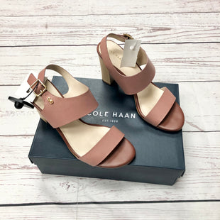 Primary Photo - BRAND: COLE-HAAN STYLE: SHOES HIGH HEEL COLOR: ROSE SIZE: 8.5 OTHER INFO: OCTAVIA SANDAL II--BOX SKU: 116-116137-8050
