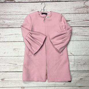 Primary Photo - BRAND: ZARA WOMEN STYLE: COAT SHORT COLOR: PINK SIZE: XS OTHER INFO: NWT MSRP 129.90 SKU: 116-116126-33887