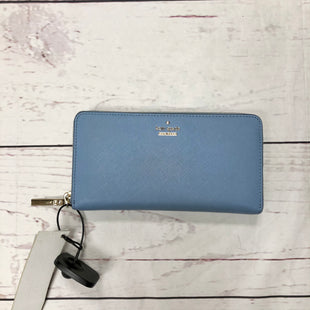Primary Photo - BRAND: KATE SPADE STYLE: WALLET COLOR: BLUE SIZE: MEDIUM SKU: 116-116134-7465