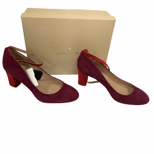 Primary Photo - BRAND: SHOES OF PREY STYLE: SHOES HIGH HEEL COLOR: MAROON SIZE: 11 OTHER INFO: NIB SIZE 11W SKU: 116-116140-8913
