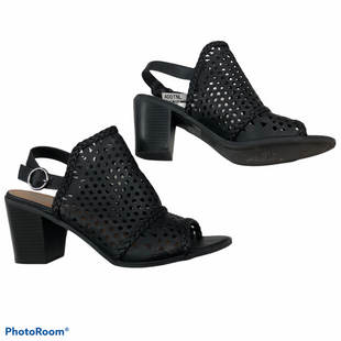 Primary Photo - BRAND: MORGAN TAYLOR STYLE: SANDALS HIGH COLOR: BLACK SIZE: 11 SKU: 116-116140-11365