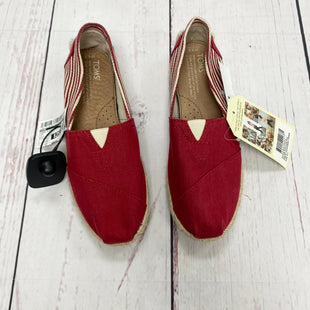 Primary Photo - BRAND: TOMS STYLE: SHOES FLATS COLOR: RED SIZE: 6.5 SKU: 116-116126-29776