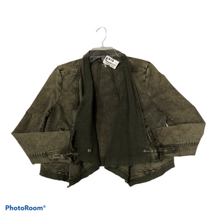 Primary Photo - BRAND: FREE PEOPLE STYLE: JACKET OUTDOOR COLOR: OLIVE SIZE: XS SKU: 116-116126-35001