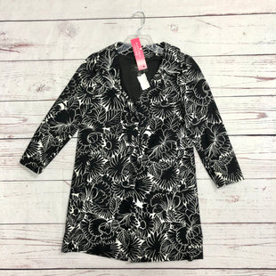 Primary Photo - BRAND: ANN TAYLOR STYLE: JACKET OUTDOOR COLOR: BLACK WHITE SIZE: XS SKU: 116-116126-32281