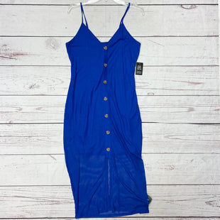 Primary Photo - BRAND: EXPRESS STYLE: DRESS SHORT SLEEVELESS COLOR: ROYAL BLUE SIZE: L OTHER INFO: NWT MSRP $49.90 SKU: 116-116140-7425