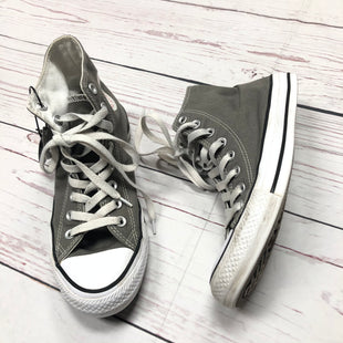 Primary Photo - BRAND: CONVERSE STYLE: SHOES ATHLETIC COLOR: GREY SIZE: 9 SKU: 116-116140-7184