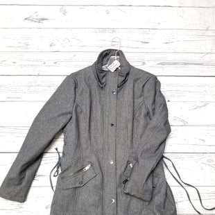 Primary Photo - BRAND: GUESS STYLE: COAT LONG COLOR: GREY SIZE: L OTHER INFO: AS IS - MISSING HOOD SKU: 116-116130-8121