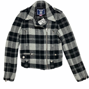 Primary Photo - BRAND: PINK STYLE: JACKET OUTDOOR COLOR: PLAID SIZE: S SKU: 116-116140-11219