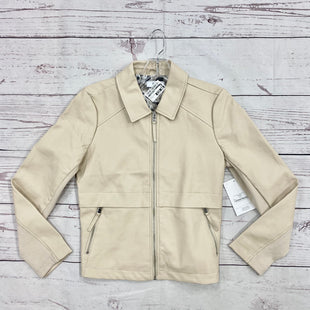 Primary Photo - BRAND:    CLOTHES MENTOR STYLE: JACKET OUTDOOR COLOR: TAN SIZE: S OTHER INFO: MAINSTREAM BOUTIQUE - NWT MSRP 112 SKU: 116-116126-31496