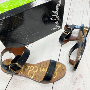 Primary Photo - BRAND: SAM EDELMAN STYLE: SANDALS LOW COLOR: BLACK SIZE: 8 OTHER INFO: MSRP $99.99 SKU: 116-116140-7346