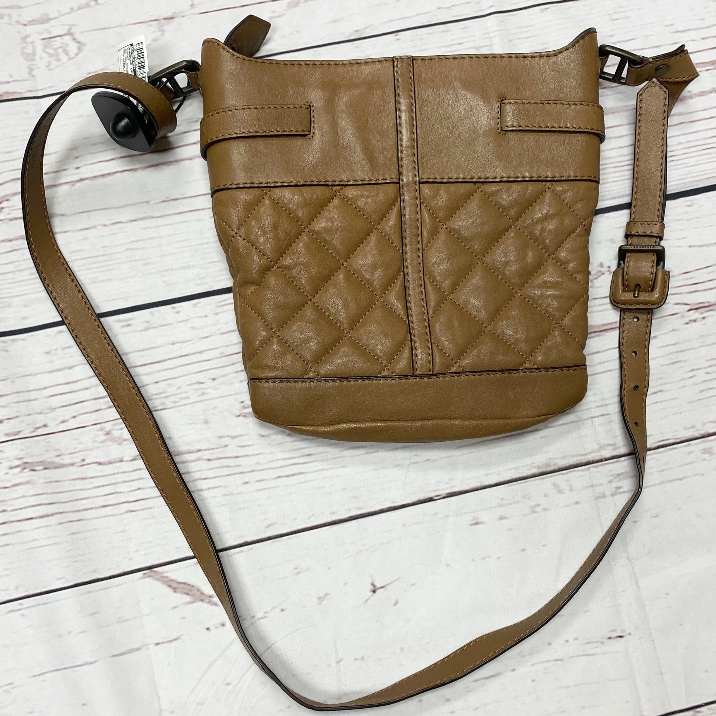 Photo #1 - BRAND: BURBERRY <BR>STYLE: HANDBAG DESIGNER <BR>COLOR: BROWN <BR>SIZE: SMALL <BR>OTHER INFO: AS IS CORNERS <BR>SKU: 116-116126-29053
