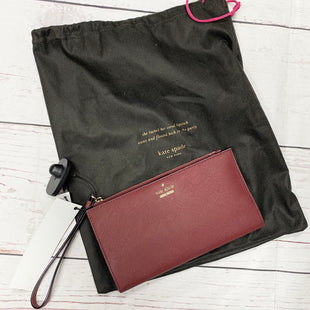 Primary Photo - BRAND: KATE SPADE STYLE: WALLET COLOR: MAROON SIZE: LARGE SKU: 116-116147-1131