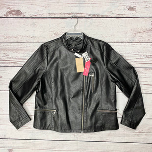 Primary Photo - BRAND: HALOGEN STYLE: JACKET OUTDOOR COLOR: BLACK SIZE: 1X OTHER INFO: NWT-MSRP $129 SKU: 116-116147-1597
