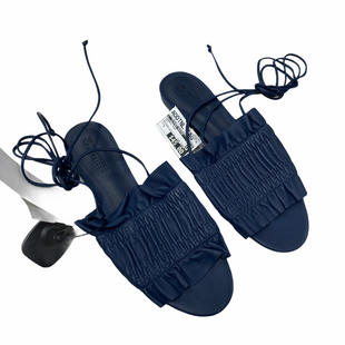 Primary Photo - BRAND:    MERCEDES CASTILLOSTYLE: SANDALS FLAT COLOR: NAVY SIZE: 8 OTHER INFO: MSRP $350 SKU: 116-116140-11500
