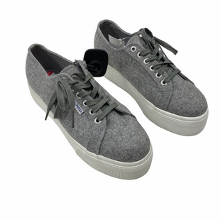 Primary Photo - BRAND: SUPERGA STYLE: SHOES ATHLETIC COLOR: GREY SIZE: 8OTHER INFO: AS IS - MSRP $98.95 SKU: 116-116147-2264