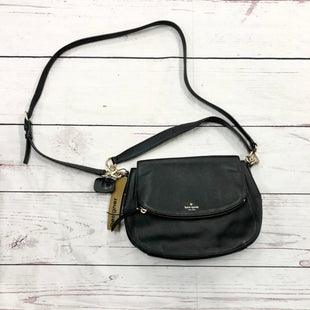 Primary Photo - BRAND: KATE SPADE STYLE: HANDBAG DESIGNER COLOR: BLACK SIZE: MEDIUM OTHER INFO: LARGE POLLY CROSSBODY MSRP $258 SKU: 116-116137-8219
