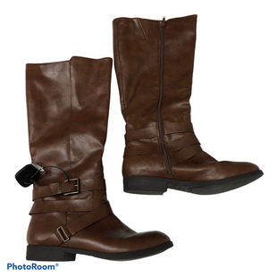 Primary Photo - BRAND: STYLE AND COMPANY STYLE: BOOTS KNEE COLOR: BROWN SIZE: 8.5 SKU: 116-116140-10312