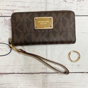 Primary Photo - BRAND: MICHAEL KORS STYLE: WALLET COLOR: MONOGRAM SIZE: MEDIUM OTHER INFO: AS IS SKU: 116-116147-1135